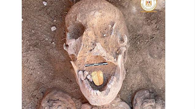 Hallan en Egipto momia con singular detalle