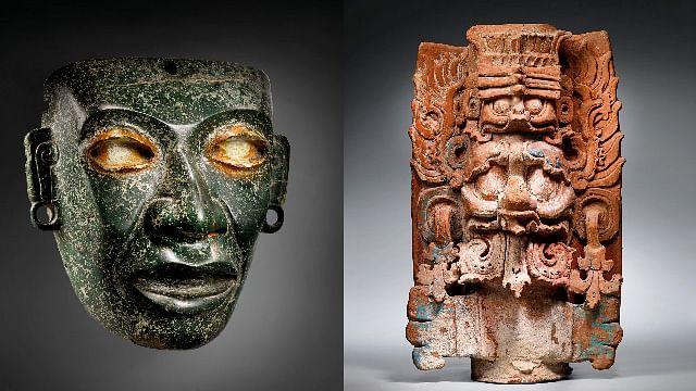 Subastan en Francia 40 piezas prehispánicas saqueadas en México