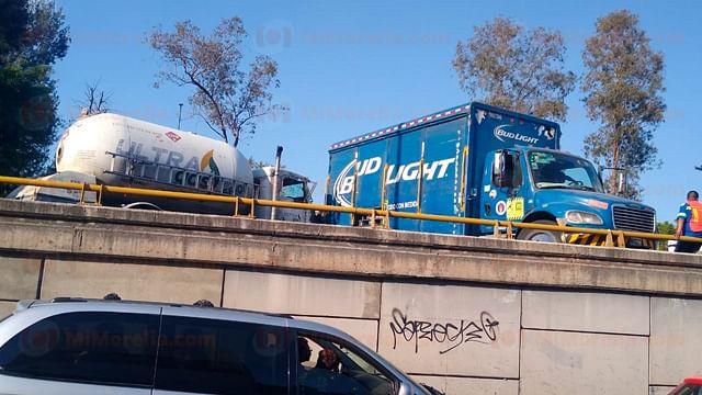 Se registran 3 accidentes vehiculares en menos de 5 horas en Morelia