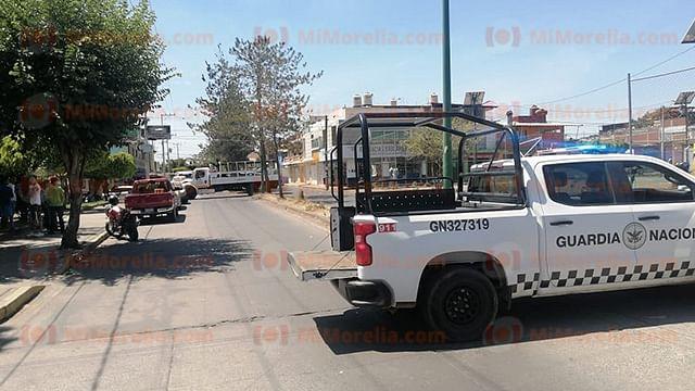 Hallan a hombre muerto en casa con fuga de gas e incendio en Uruapan