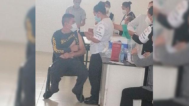 Inmunizan contra el Covid-19 a Bomberos y Protección Civil de Zitácuaro