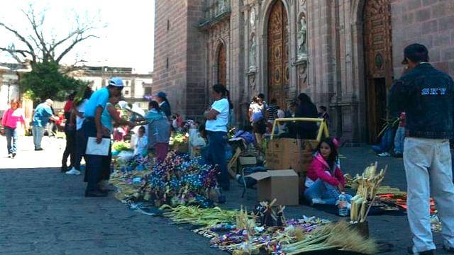 Comerciantes semifijos, sin permiso para vender durante Semana Santa en Morelia