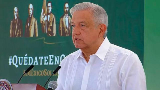 El domingo llegan a México las primeras vacunas de EU, confirma AMLO