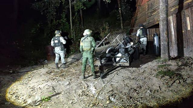 Militares aseguran en Morelia laboratorio para elaborar droga sintética