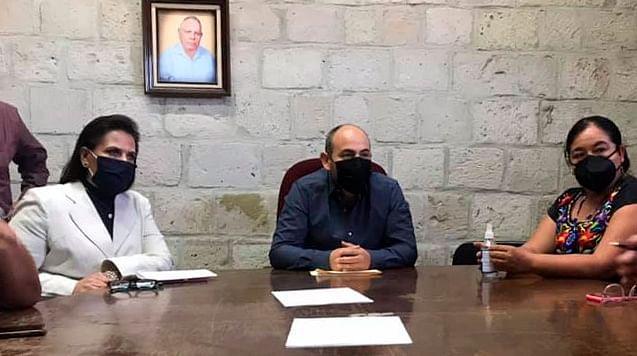 Designan a hijo de Baltazar Gaona como encargado de presidencia en Tarímbaro