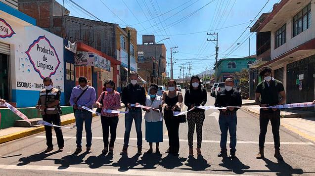 Inauguran rehabilitación de avenida en Praderas del Sur, en Morelia