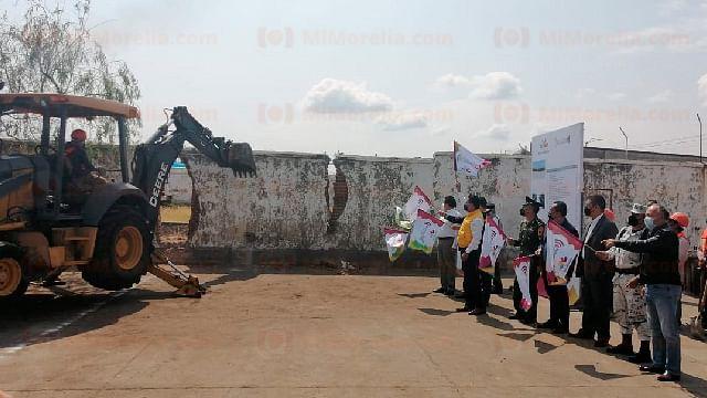 Inicia construcción de Cuartel Valladolid en Morelia