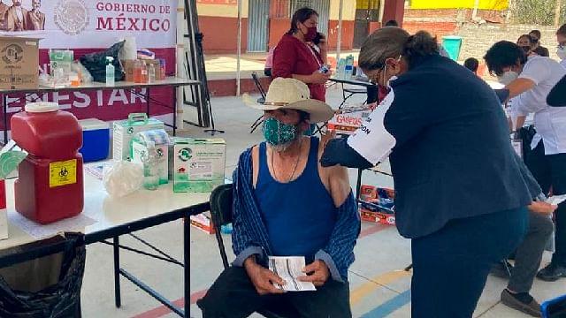 Concluye primera etapa de inmunización en 21 municipios de Michoacán
