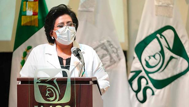 Saandra Durán Vázquez, representante del IMSS en Zacatecas (Foto Cortesía)
