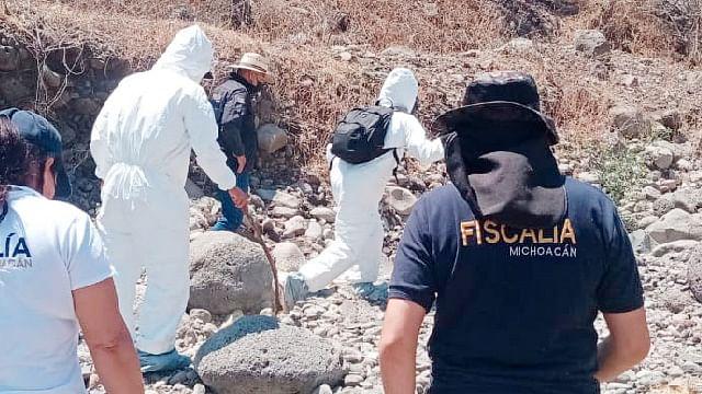 Caravana de búsqueda de personas localiza restos óseos