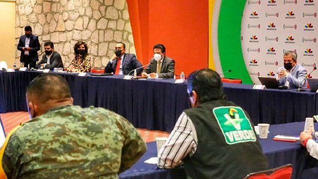Sin Morena y RSP, firman acuerdo de civilidad política para elecciones