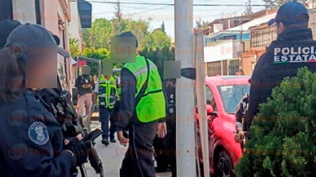 Sujetos intentan asaltar negocio en Morelia, pero no consiguen su objetivo