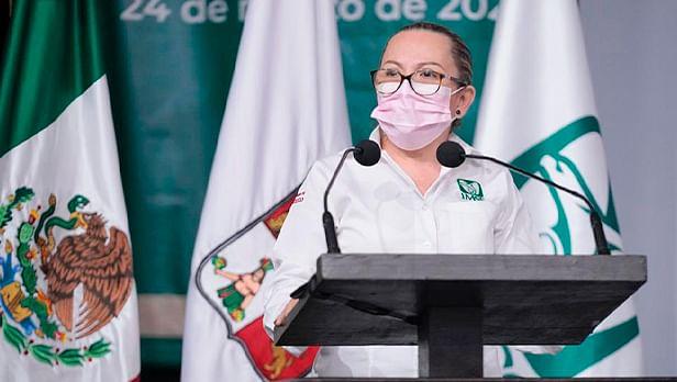 Rosa Herlinda Madrigal Miramontes, representante del IMSS en Tabasco (Foto Cortesía)