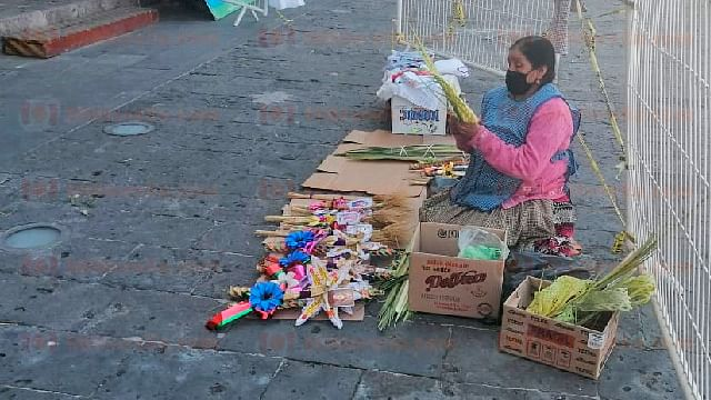 Domingo de Ramos, con baja afluencia de artesanos en Morelia