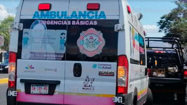 Atacan a balazos a pareja que estaba en la calle, en Morelia