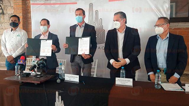 Firman Sedeco y AIEMAC convenio para certificaciones en pro del medio ambiente