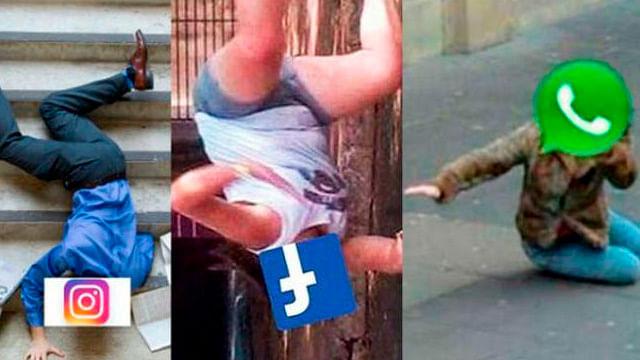 Facebook,, Instagram y WhatsApp, otras que presentan fallas