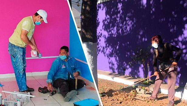 DIF Uruapan realiza trabajos de mantenimiento en Cedecos
