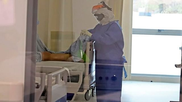 Ocupación de camas Covid-19 en hospitales de la SSM, debajo del 50%