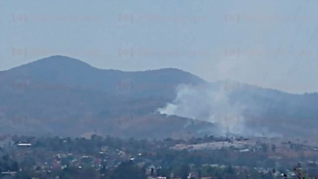 Se registran dos incendios forestales en Morelia; ya atienden brigadistas