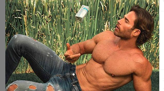 Sebastián Rulli comparte foto sin ropa y Angelique Boyer reacciona