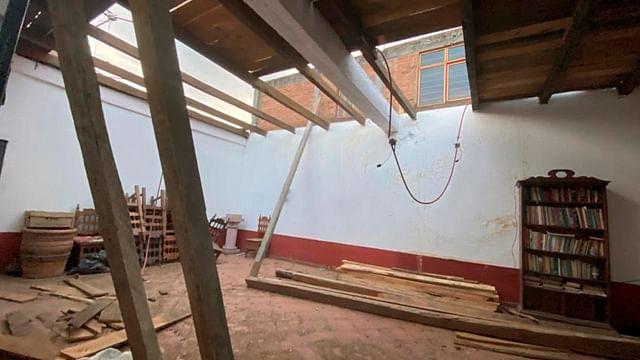 Rehabilitación de jefatura en Santiago Undameo avanza