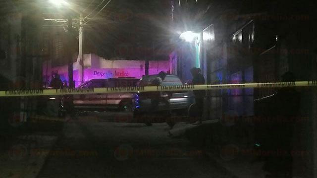 Hombre es asesinado a balazos en una vivienda de colonia de Morelia