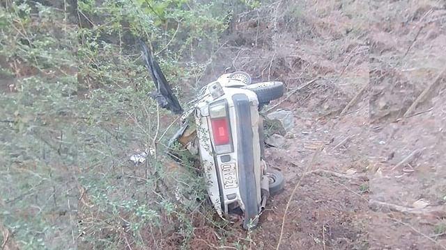 Muere adulto mayor a caer a un barranco, en la Ciudad Hidalgo-Morelia