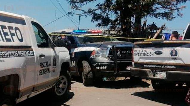 Ataque contra policías en Uruapan deja dos agresores muertos y un lesionado