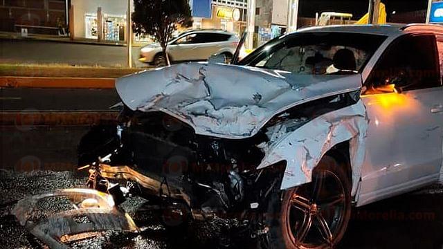 Mueren dos personas en trágico accidente en la Morelia-Pátzcuaro