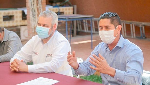 Bedolla y transportistas pactan trabajar a favor de la movilidad en Morelia