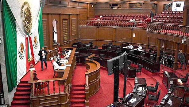 Analizará Congreso reformas en materia electoral y derecho a la movilidad