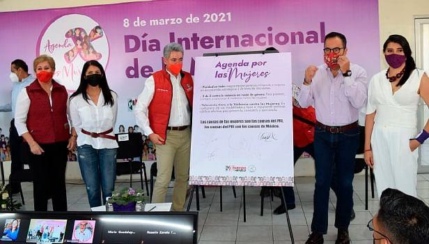 El PRI está con las mujeres: Jesús Hernández Peña