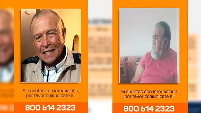 ¿Los has visto?; dos abuelitos están desaparecidos en Morelia