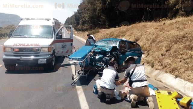 Dos mujeres muertas y 4 heridos, saldo del choque en la Siglo XXI