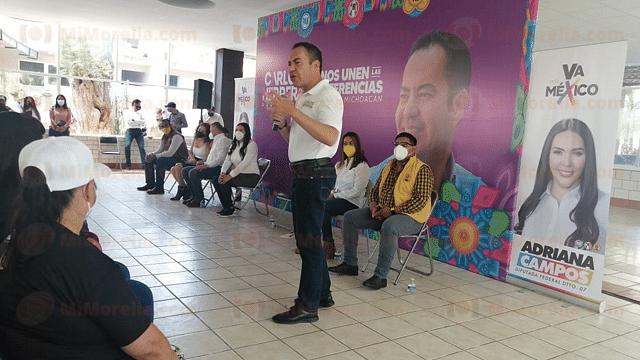 Garantizará Carlos Herrera una policía vigilada