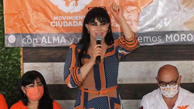Matan en acto de campaña a Alma Barragán, candidata de MC a la alcaldía de Moroleón
