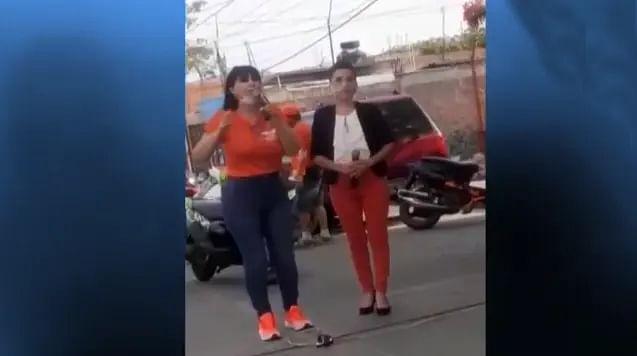 Revela noticiero momento del asesinato de la candidata Alma Barragán