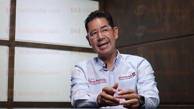 Pide Iván Pérez Negrón no permitir compra de conciencias en la jornada electoral