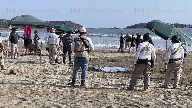 Adolescente moreliano muere ahogado en Zihuatanejo