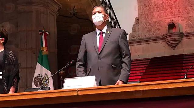 MORELIA: Arróniz rinde 3er informe de gobierno; hubo cero corrupción, asevera