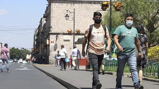 Llega Michoacán a los 64 mil 600 contagios confirmados de Covid-19