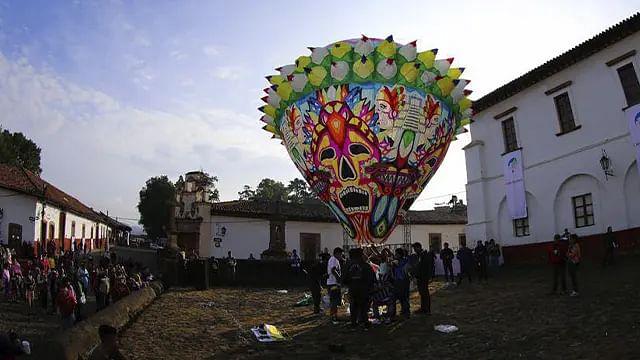 ¡Regresa a Pátzcuaro el Festival Internacional de Globos de Cantoya!
