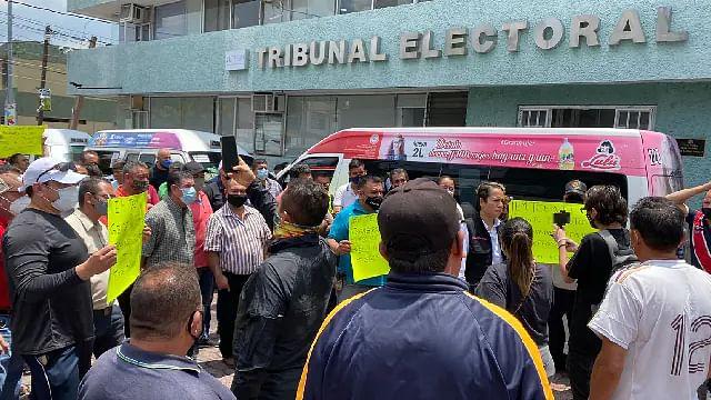 Protesta FXM en el TEEM; este domingo resolvería juicios sobre distrito Tacámbaro