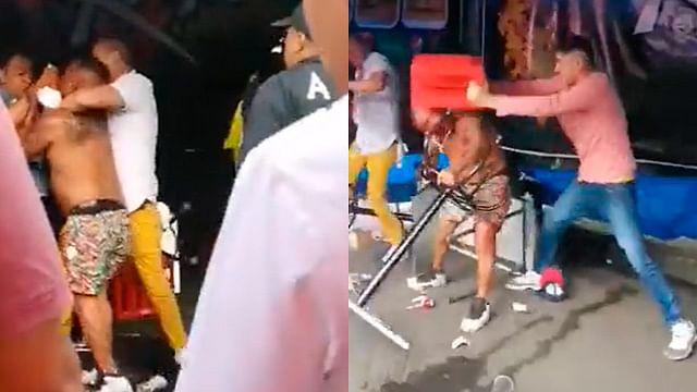 """Hombre se enfrenta contra cuatro en """"chelería"""" de Tepito y se viraliza"""