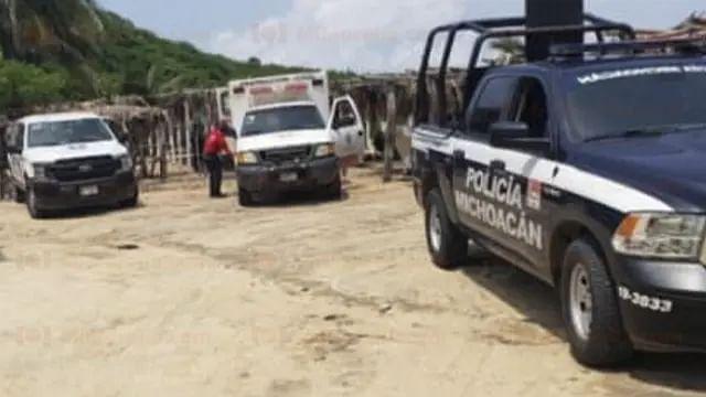 Turista muere ahogado en playa de Michoacán