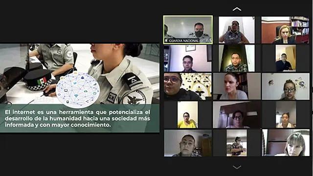 En charlas sobre ciberseguridad, promueven prevención del delito y denuncia