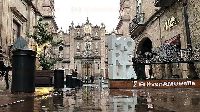 Todo el jueves nublado y por la tarde tormentas en Morelia, pronostican