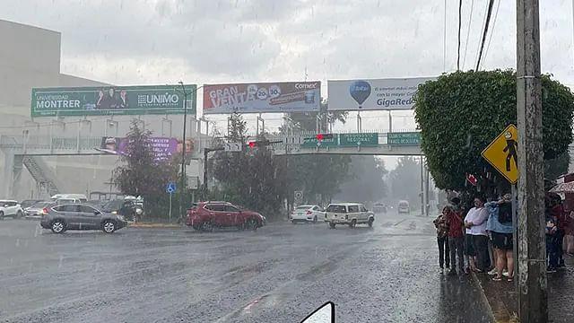 Tarde lluviosa en Morelia, el pronóstico para este miércoles