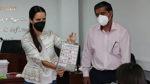 Recuentan votos de 3 casillas de la elección municipal de Tarímbaro